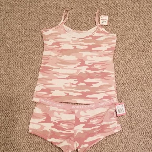 ff6c351105e3 ROTHCO Intimates & Sleepwear | Baby Pink Camo Set Top Med And Bottom ...